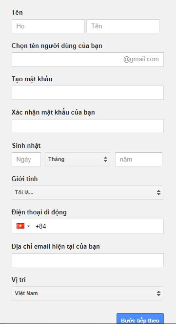 cách tạo tài khoản email mới ảnh 3