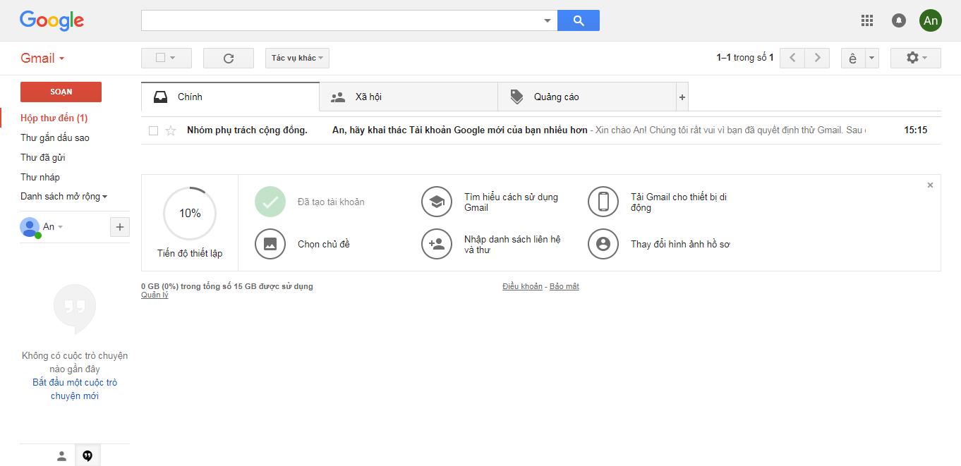 cách tạo tài khoản email mới ảnh 6