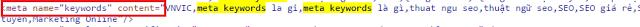 meta keywords là gì ảnh 2