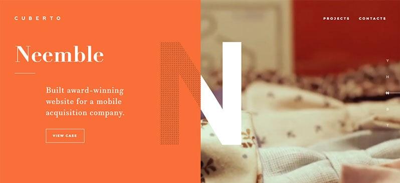 xu hướng thiết kế website 6