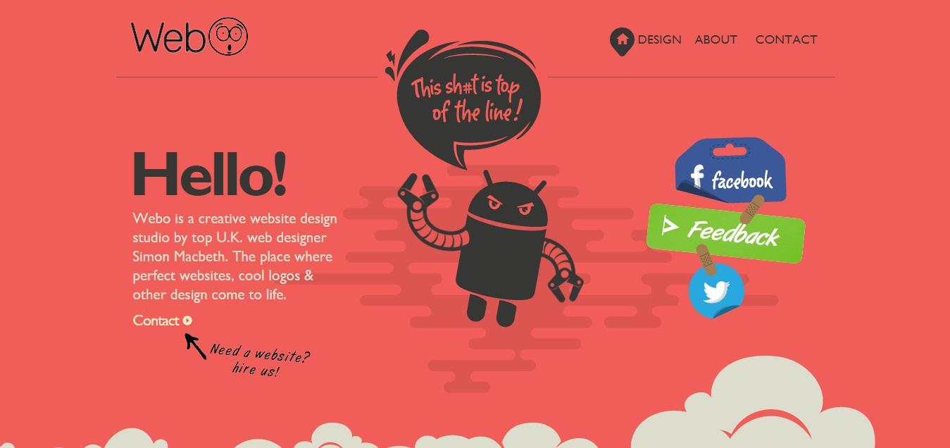 xu hướng thiết kế website 7