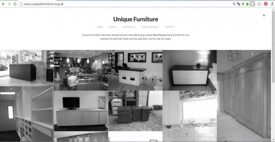 thiết kế web nội thất 1