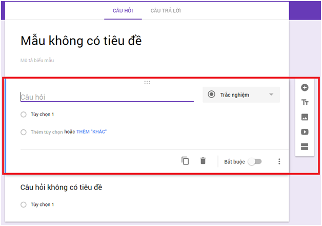 Cách tạo Form Google trên Google Drive chi tiết, đơn giản nhất 05