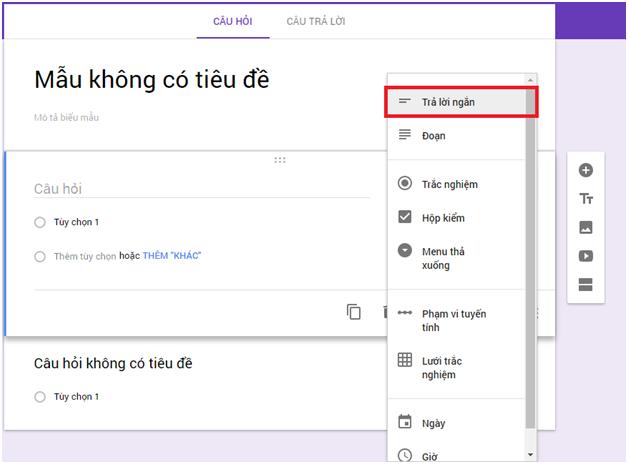 Cách tạo Form Google trên Google Drive chi tiết, đơn giản nhất 07