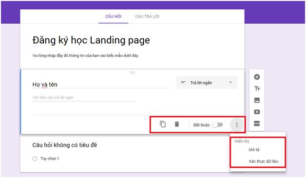 Cách tạo Form Google trên Google Drive chi tiết, đơn giản nhất 08
