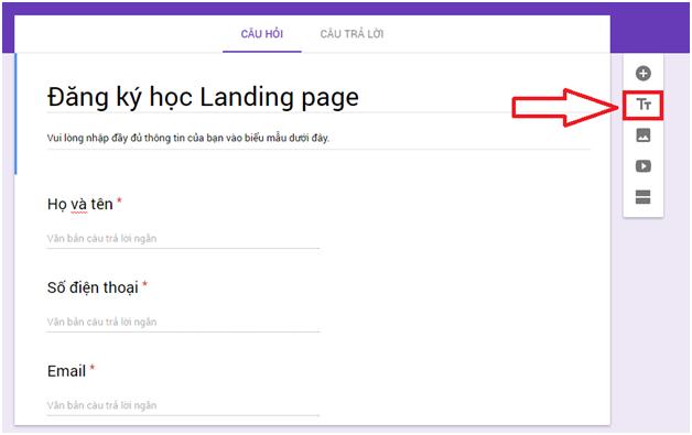 Cách tạo Form Google trên Google Drive chi tiết, đơn giản nhất 09