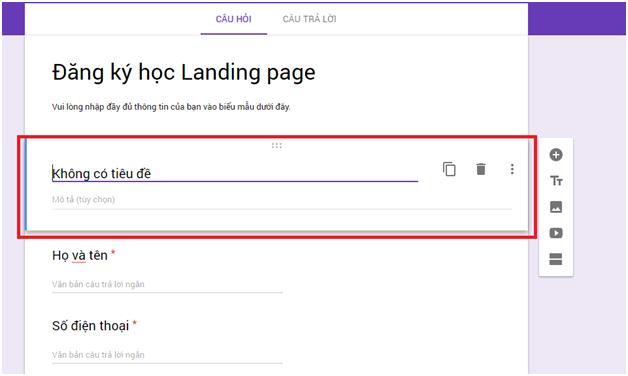 Cách tạo Form Google trên Google Drive chi tiết, đơn giản nhất 10