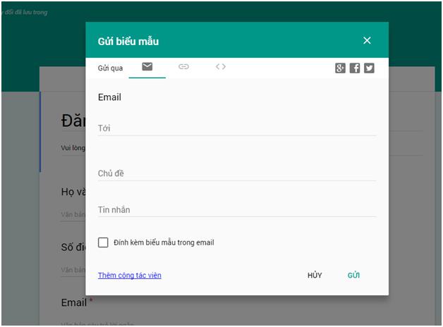 Cách tạo Form Google trên Google Drive chi tiết, đơn giản nhất 20