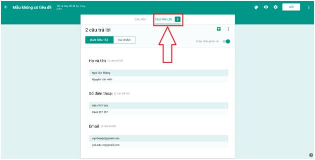 Cách tạo Form Google trên Google Drive chi tiết, đơn giản nhất 23
