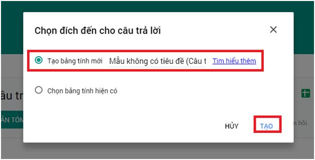 Cách tạo Form Google trên Google Drive chi tiết, đơn giản nhất 25