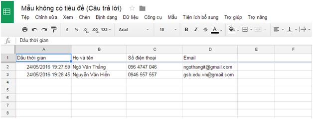 Cách tạo Form Google trên Google Drive chi tiết, đơn giản nhất 26