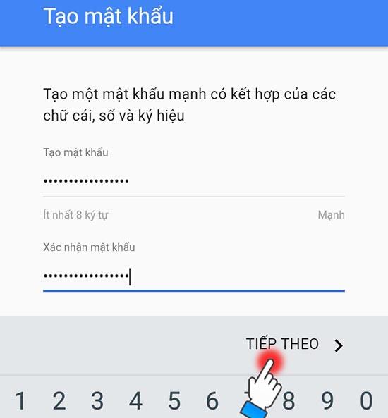 cách tạo tài khoản google play 5