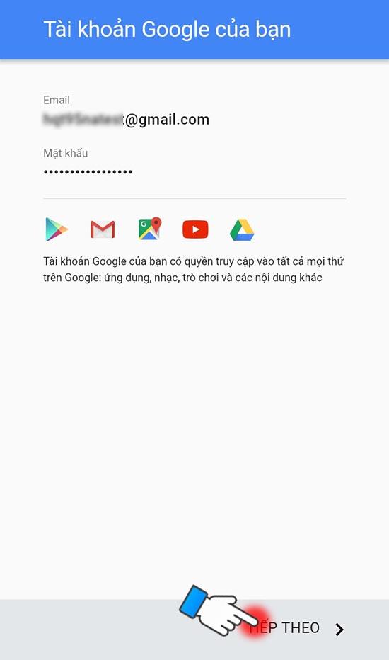 cách tạo tài khoản google play 8