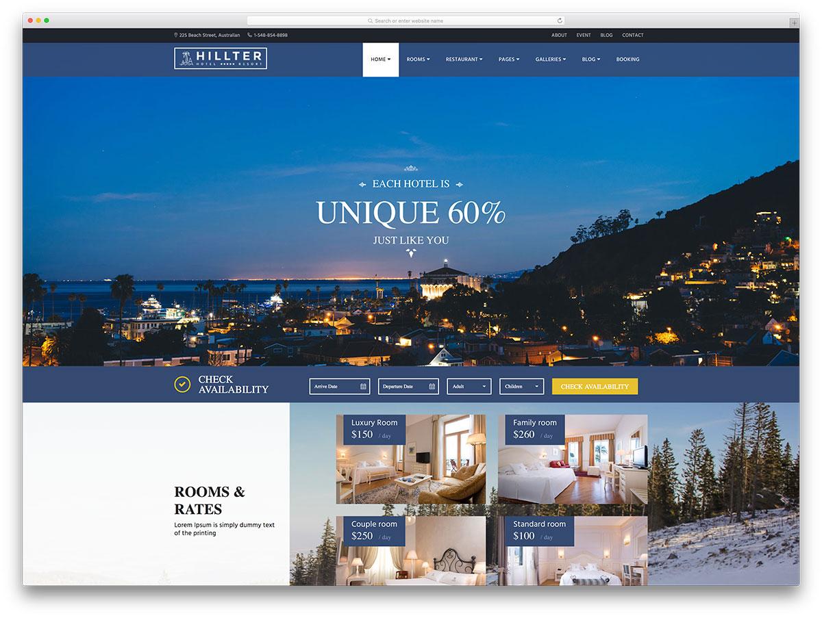 thiết kế website nhà hàng khách sạn4