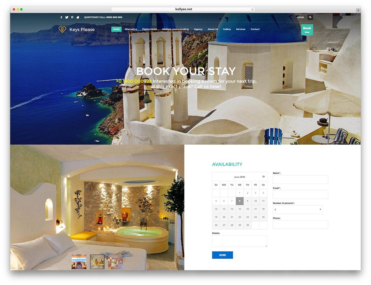 thiết kế website nhà hàng khách sạn6