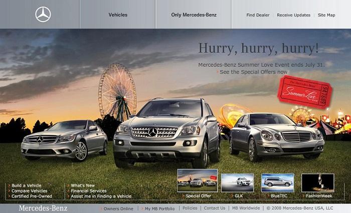 thiết kế website bán ô tô1