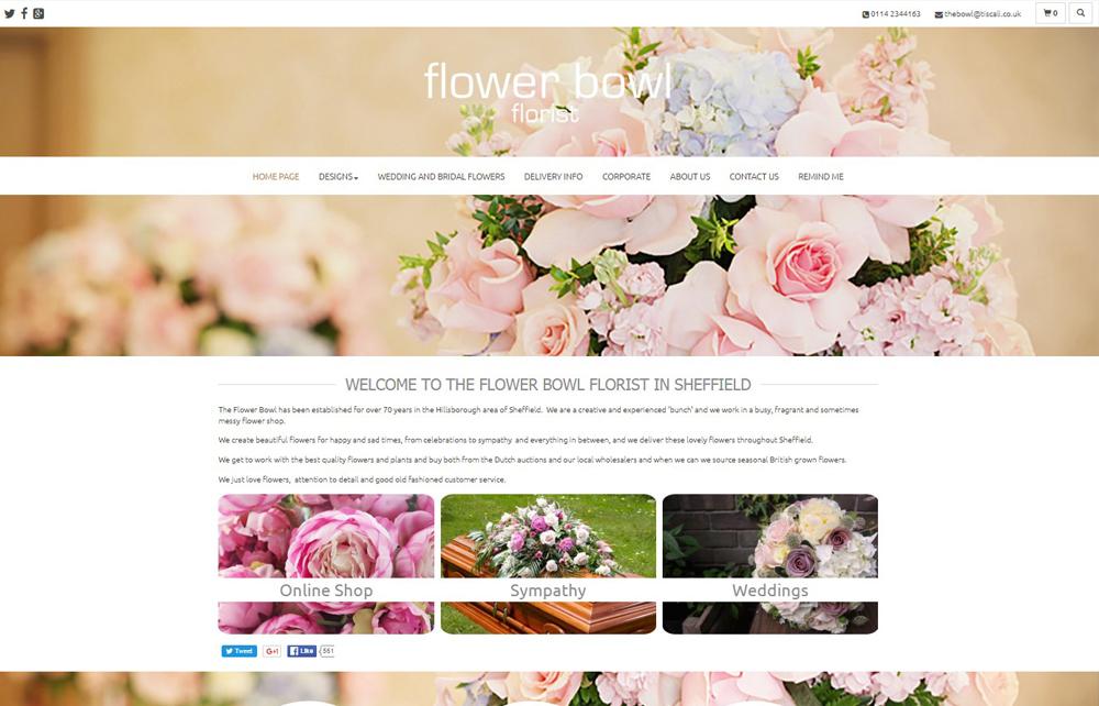 ý tưởng thiết kế website kinh doanh hoa tươi 2