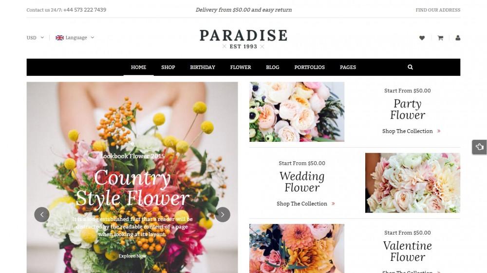 ý tưởng thiết kế website kinh doanh hoa tươi 7