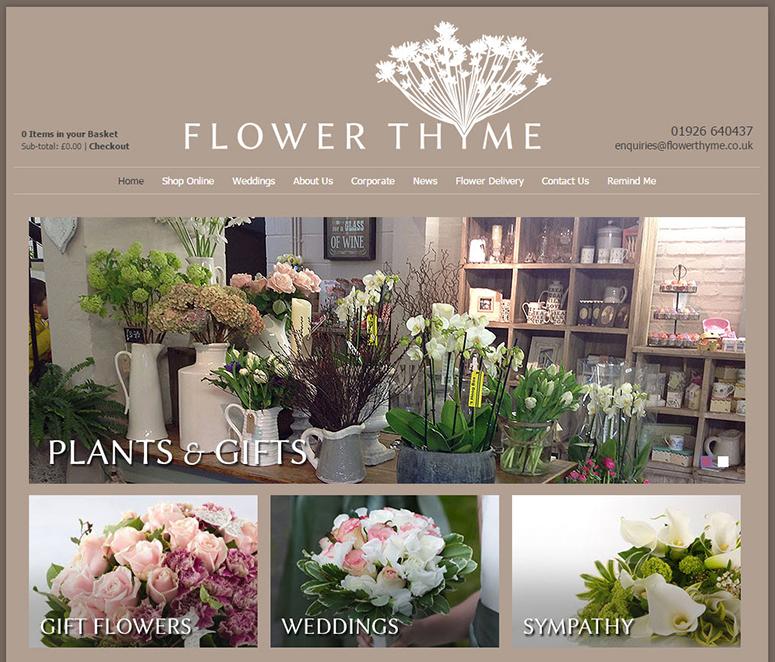 ý tưởng thiết kế website kinh doanh hoa tươi 3