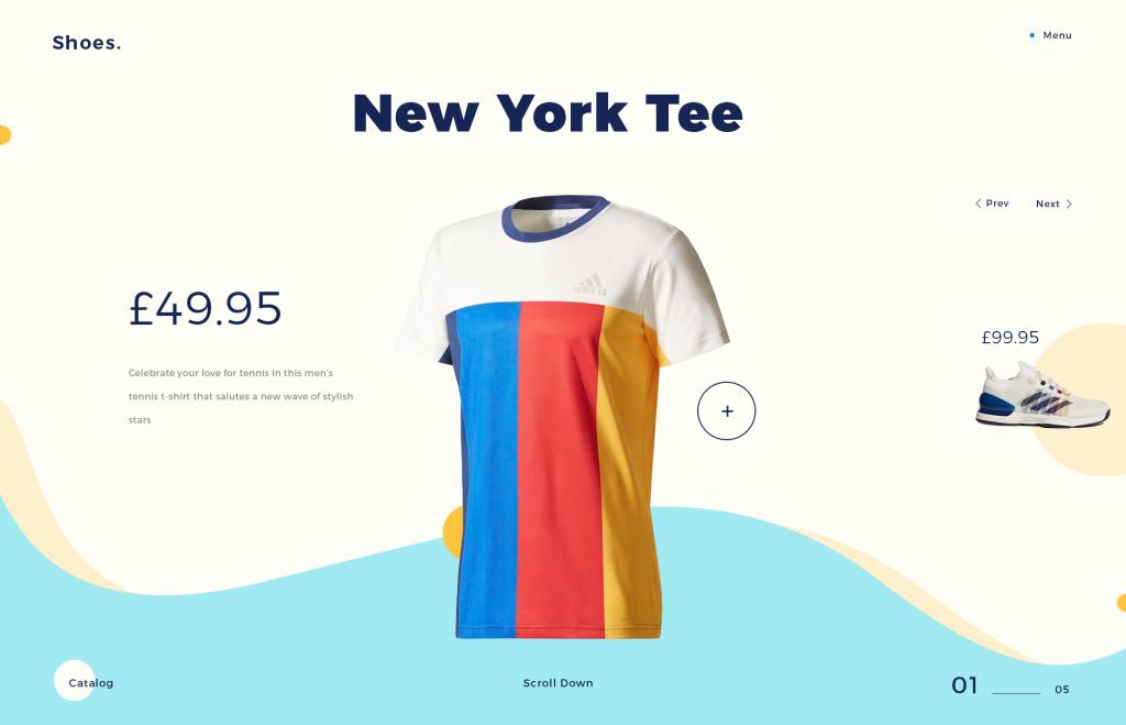 xu hướng thiết kế website mới11
