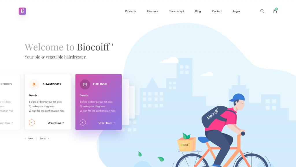 xu hướng thiết kế website mới1
