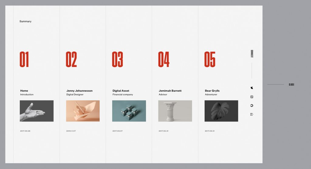 xu hướng thiết kế website mới8