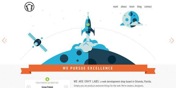 màu sắc trong thiết kế website 1