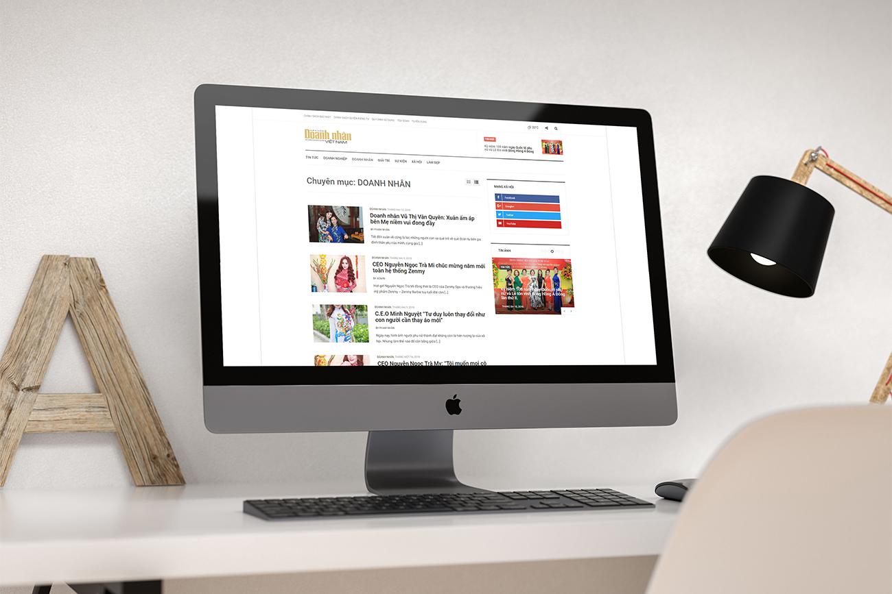 Thiết kế website tin tức 04
