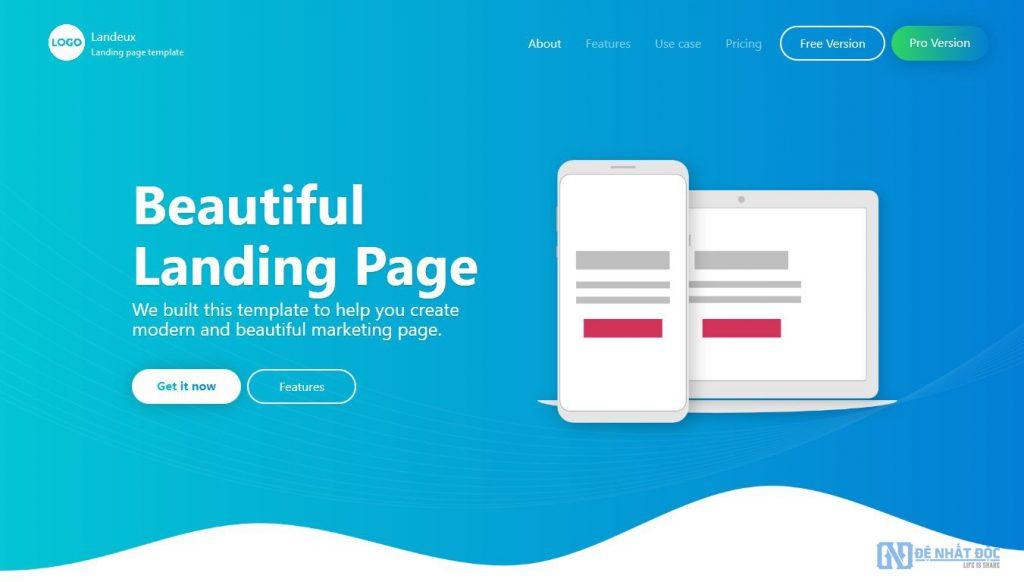 Landing page cũng là một cách link building