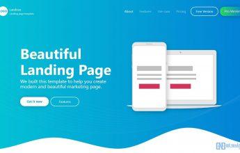 cấu trúc landing page