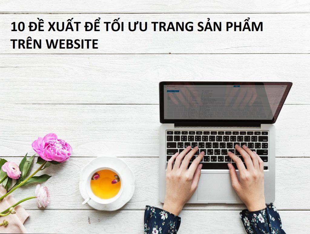 tối ưu sản phẩm trên website