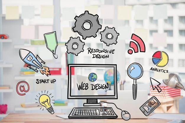yếu tố trong thiết kế web