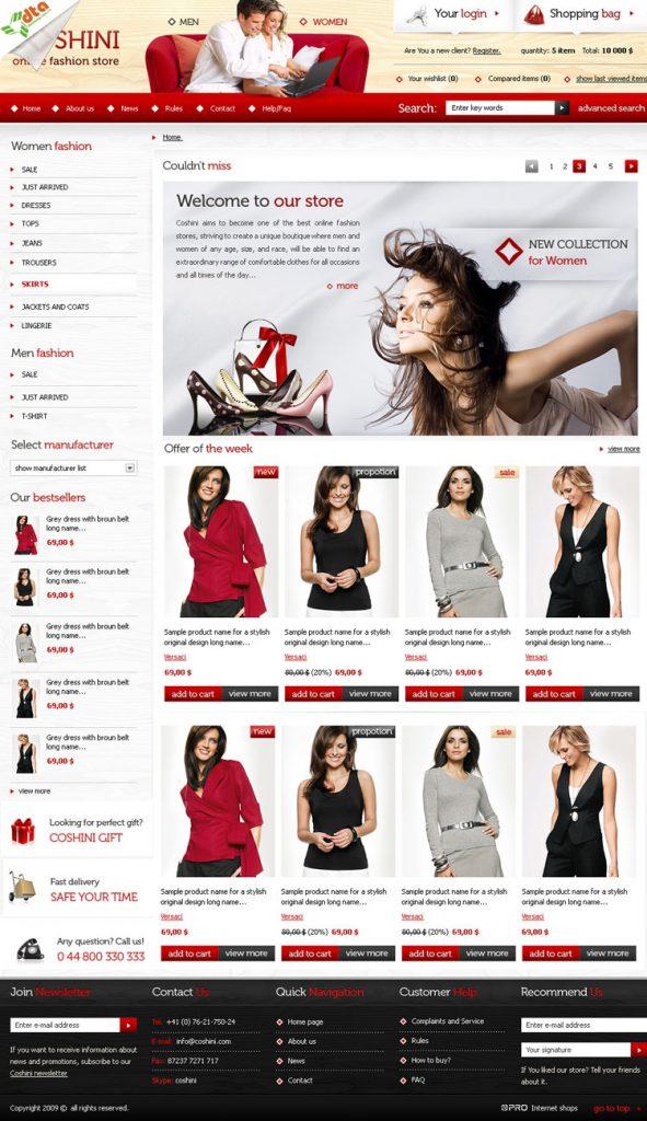 mẫu website bán hàng 03