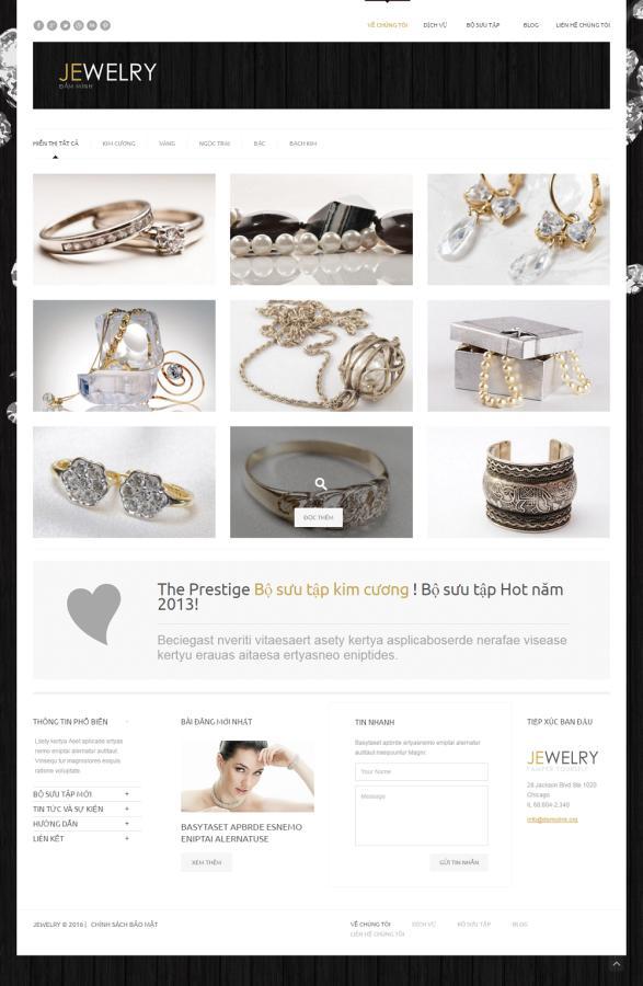 mẫu website bán hàng 07