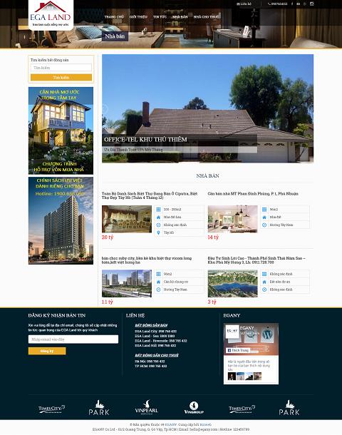 giao diện website bất động sản 02