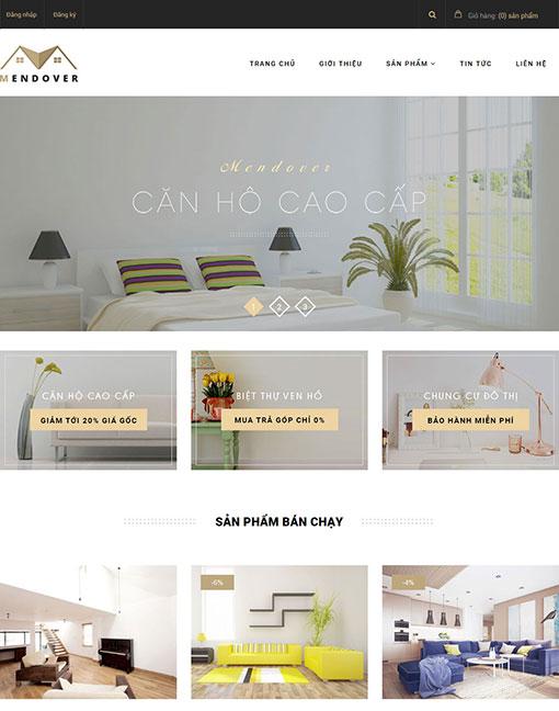 giao diện website bất động sản 03