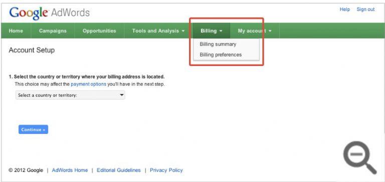 thanh toán quảng cáo Google AdWords 02