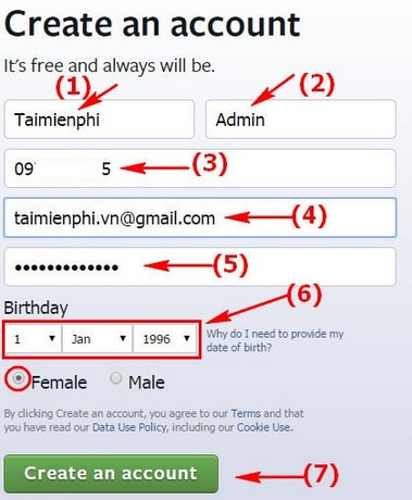 đăng ký facebook 02