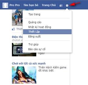 cách bảo mật facebook 02