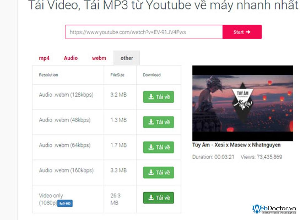 cách tải video từ youtube về máy tính 03