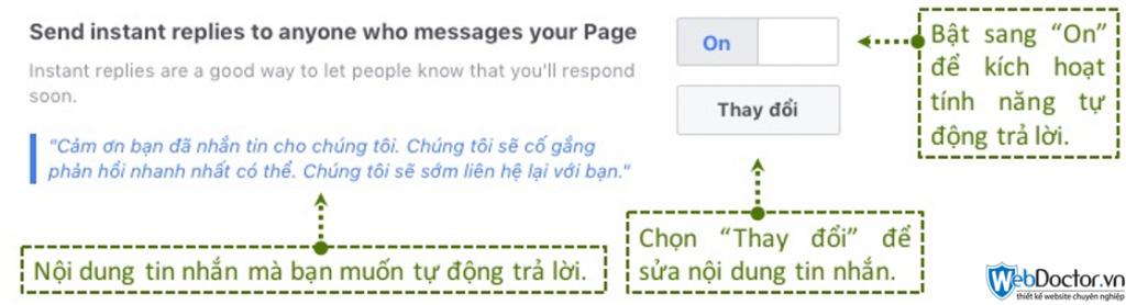 cài đặt messenger cho fanpage 03
