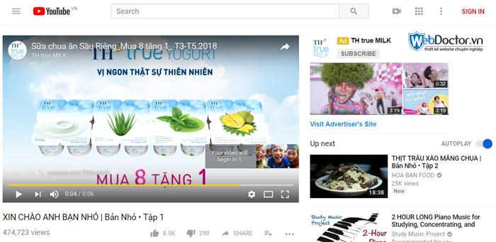 quảng cáo video youtube 03