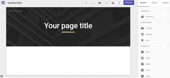 Google Site là gì 02